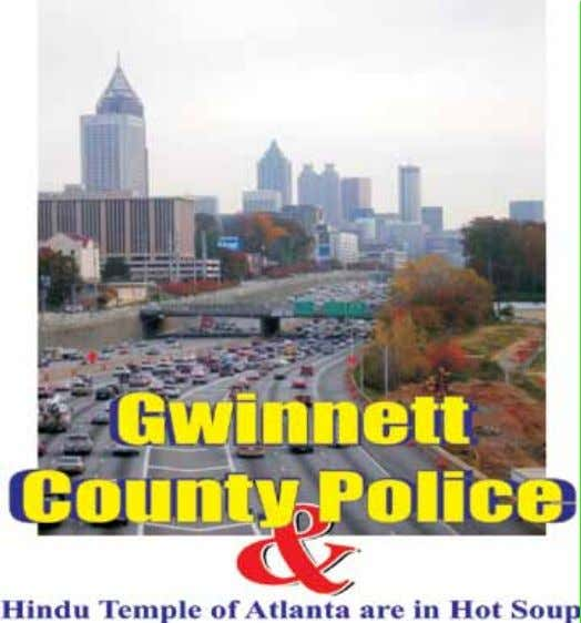 Hindu Temple and Gwinnett Police of Georgia are sued for $ 56 Million Plus Dayton,
