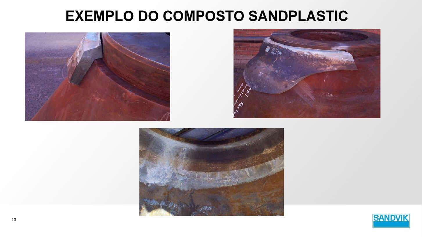 EXEMPLO DO COMPOSTO SANDPLASTIC 13