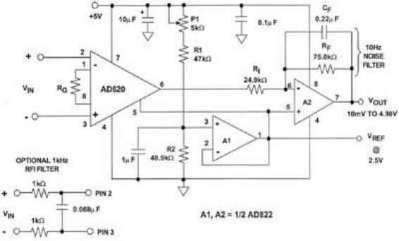 for the output stage. A PRECISION SINGLE-SUPPLY INSTRUMENTATION AMPLIFIER WITH RAIL-TO-RAIL OUTPUT Figure 1.12 22