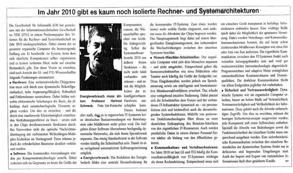 "DKR: I.9 aus: Computer Zeitung 7/2003 ""Looking Ahead"" DKR: I.10 CRN (06/17/02) No. 1000, P. 95;"