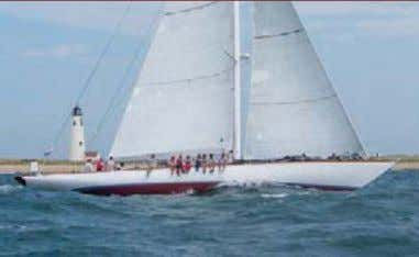 Grand Prix division at 2014 Nantucket Opera House Cup GOSHAWK Builder: 23m / 76' Brooklin Boat