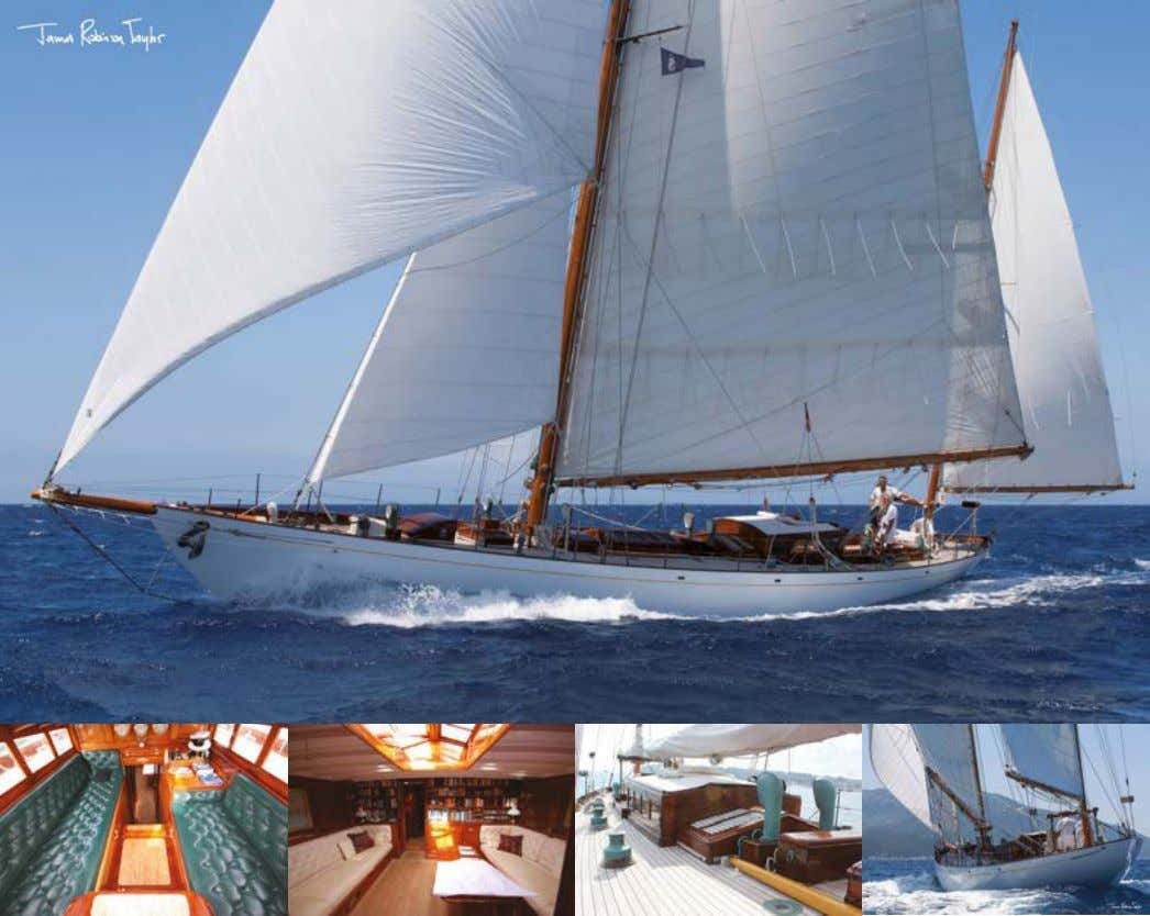 Latifa William Fife III 70 ft Yawl 1936 € 2.5M Lying Italy Designed by William Fife