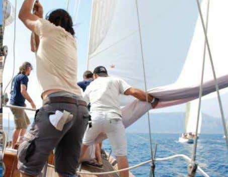 ONBOARD CORFU TO SPETSES CB ARCHIVES Above, left to right: Very pistol on Alexandra ; the
