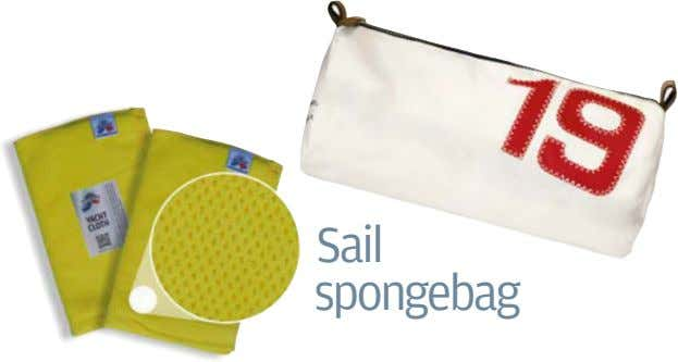 Sail spongebag