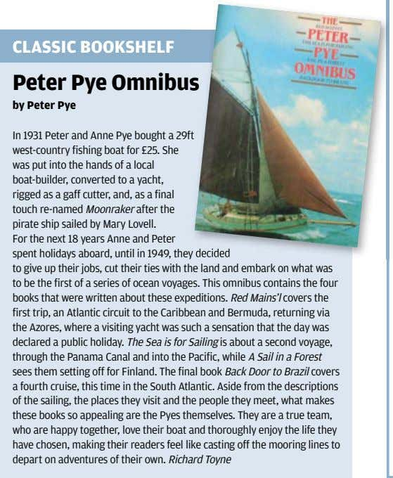 CLASSIC BOOKSHELF Peter Pye Omnibus s by Peter Pye In 1931 Peter and Anne Pye