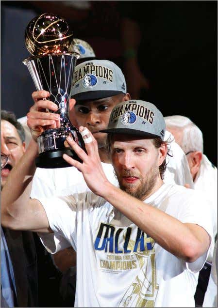current collective bargaining agreement expires June 30. REUTERS Dallas superstar Dirk Nowitzki hoists the NBA Finals