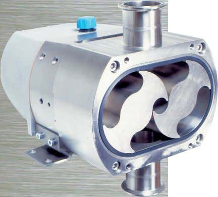 / 55 SERIES Ultra Hygienic Positive Displacement Pump Design Features • Ultimate Hygienic Standards Tested and