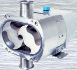 cleanly and without degradation. Flexible Impeller Pumps (1) Inlet On start-up, air in the inlet pipe