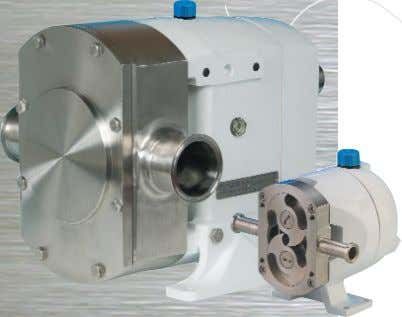 ROTARY LOBE PUMPS – SUPER HYGIENIC Hy~Line Super Hygienic Positive Displacement Pump Design Features •Most Stringent