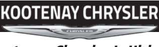 p ace. f Shop and connect with your friends and neighbours. Kootenay Chrysler Is Hiring! WASH