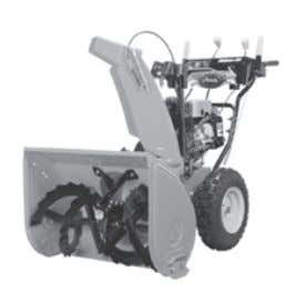 "ft/lbs) Throws snow 50 ft (15.2 m) Housing: 24""w, 21"" h Deluxe 28 Model: 921030 Engine:"