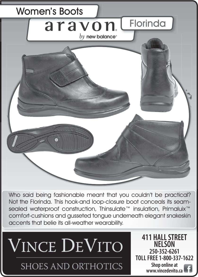 Women's Boots Florinda Who said being fashionable meant that you couldn't be practical? Not the