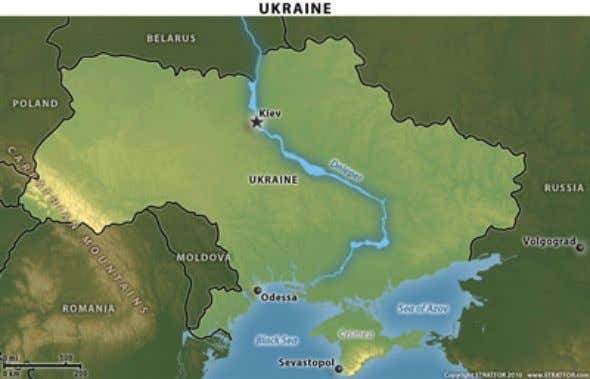 point where the extraordinarily wide Dnieper River narrows. Still, few historians doubt that some offer of