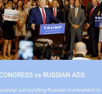 platforms to make changes in order to pre-empt regulation. E.g US CONGRESS vs RUSSIAN ADS The