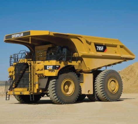 Cat ® 795F AC Off-Highway Trucks Preliminary