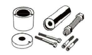 Suspension Tools 2870871 -- ATV Ball Joint Tool Kit 2871071 -- Shock Body Holding Tool 2870623