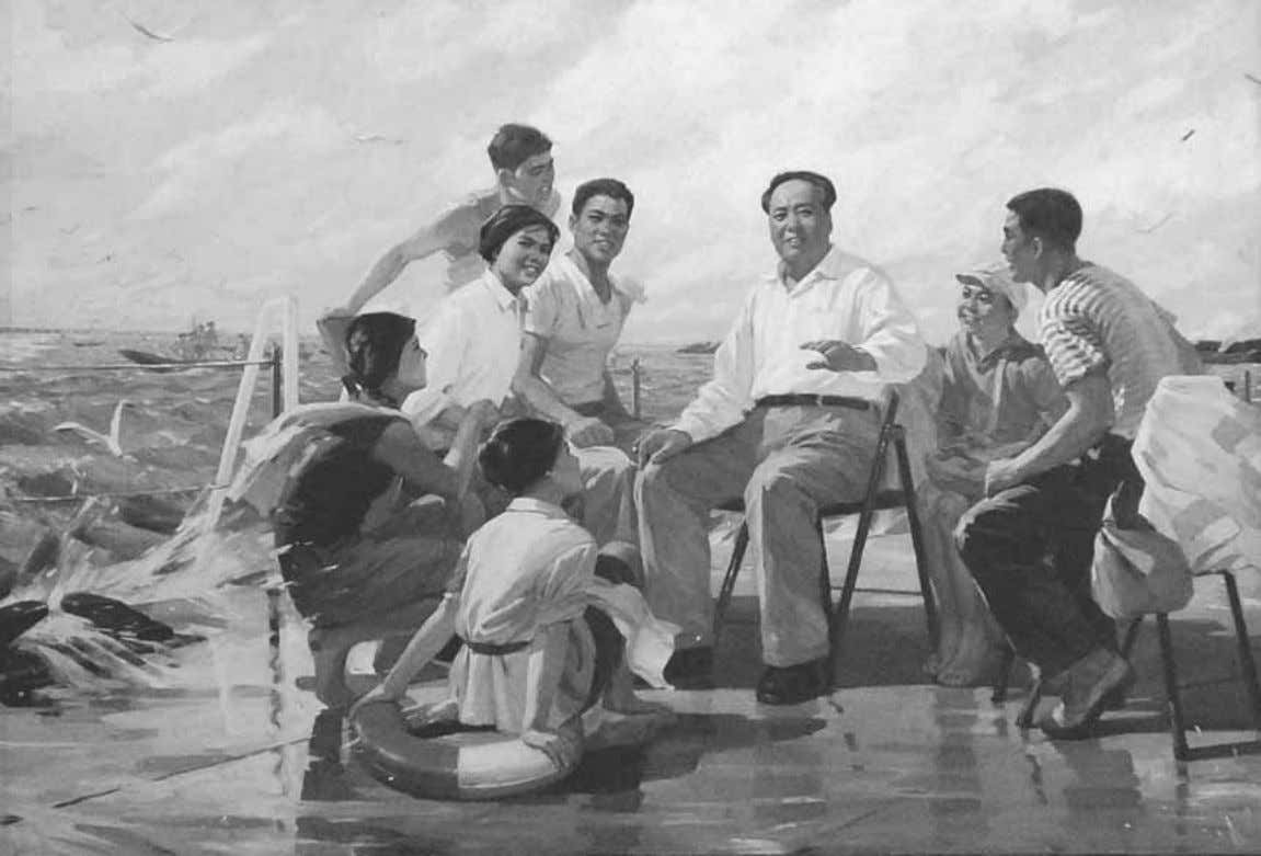 The Art of the Cultural Revolution Figure 1.10 Tang Xiaohe and Cheng Li, Follow Chairman Mao