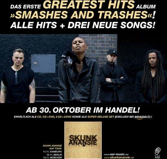 daS erSte GreateSt HitS albUm »SmaSHeS and traSHeS«! alle HitS + drei neUe SOnGS!