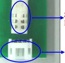 Sensor for Temperature Vcc Humidity Output Temperature Output GND Sensor for Humidity 4-Pin Header