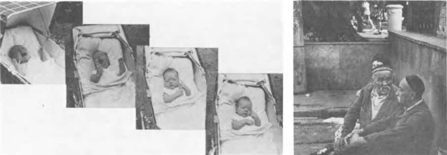 6 CHAPTER 1 FIGURE 1-1. From distress , to joy and contented sleep in a seven-week-old