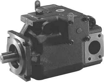 VZ series piston pump Features ! ! ! ! ! High density of displacement The adoption