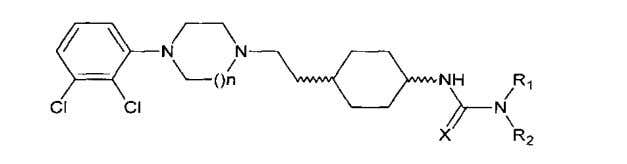 "of above-mentioned (thio)-carbamoyl-cyclohexane derivative IPC Stats search using the expression ""piperazine and"