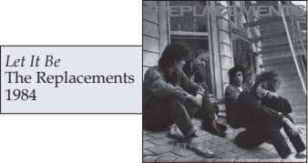 Let It Be The Replacements 1984