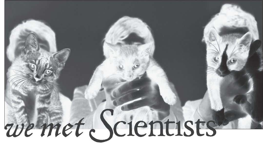 By Maryanna Brown Never before was there a more perfect combination than We Are Scientists