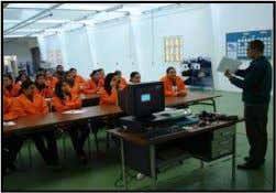 LesLes installationsinstallations dede productionproduction TrainingTraining areaarea GafsaGafsa 12001200 m2m2