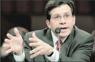 are totally SEE COBURN A-4 ''I like you as a man. I Attorney General Alberto Gonzales