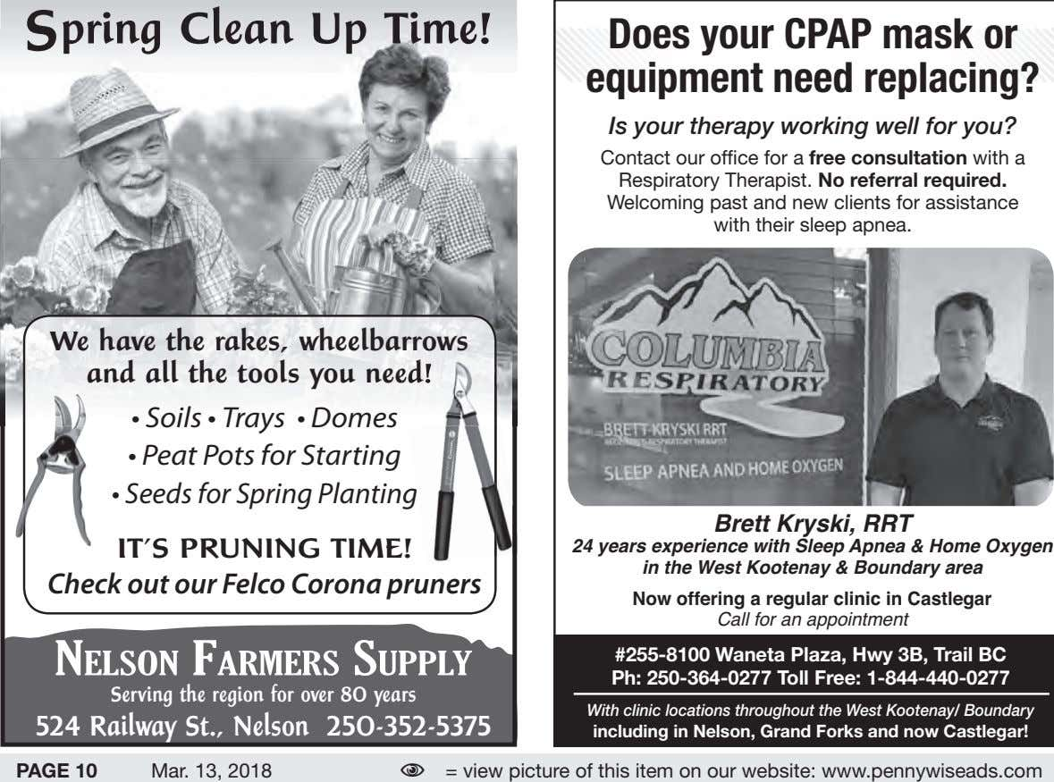 S pring Clean Up Time! Col respiratory Does your CPAP mask or equipment need replacing?