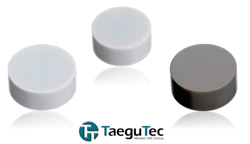 January 2018 www.taegutec.com 1/4 TC3020 and TC3030 Grades Now Expanded to the RNGN 19 and 25