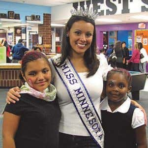 "You can contact her at missminnesota2010@gmail.com. searching for ""My role at Eventos provides me a platform"