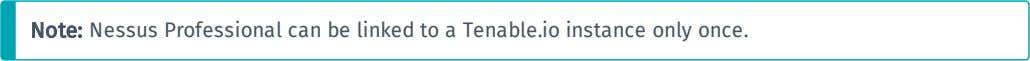 installs Nessus as a remote scanner, linked to Tenable.io. 1. In the Product Registration window, in