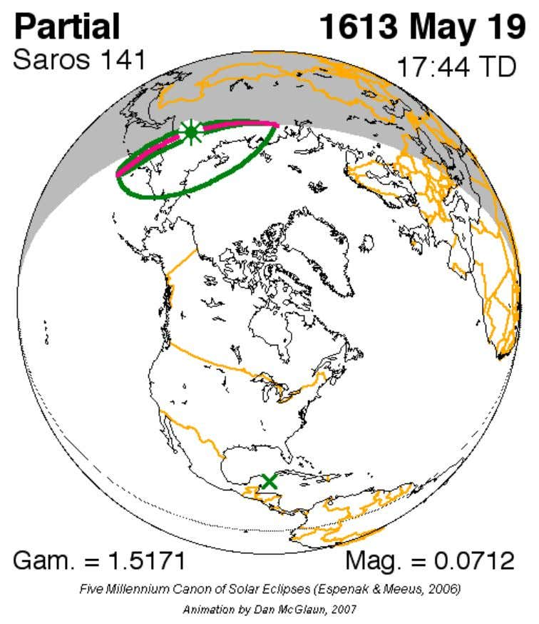 http://dhani.singcat.com/astro/artikel.php?page=comet The eclipse starts at Uganda, passes through Nairobi, enters Indian ocean where the greatest eclipse