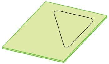 GS(geometrical set) in a work object and offset the given Fig 6-63 Offset Surface Created Creating