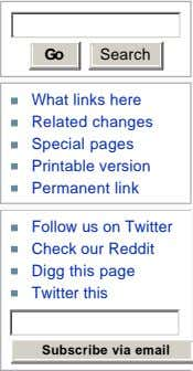 Go Search What links here Related changes Special pages Printable version Permanent link Follow us