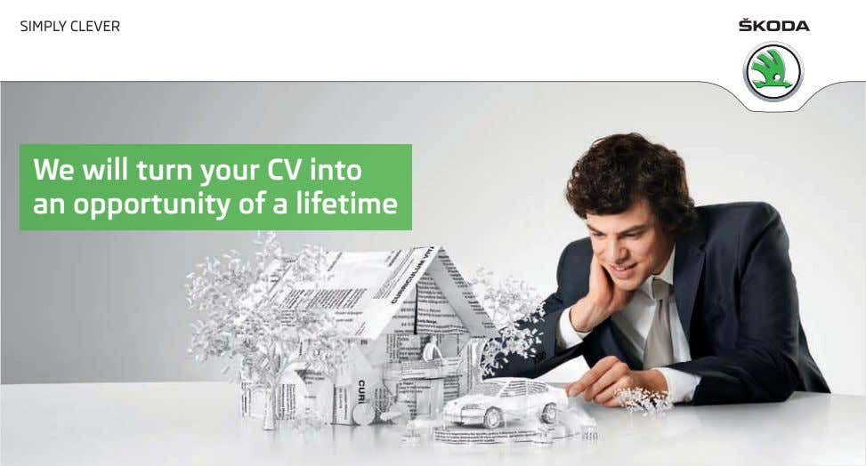 We will turn your CV into an opportunity of a lifetime