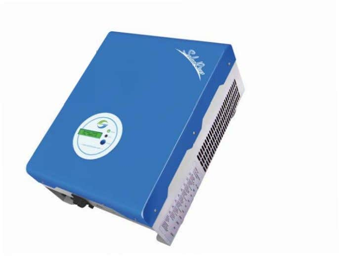SolarRiver Grid-tied Inverter Product Manual Samil Power Co., Ltd. SP-SR-V5-EN