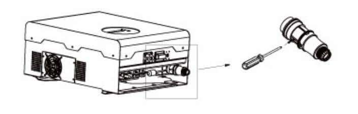 see figure 12 and 13 fo r AC connector disassembling guide. Figure 12 Disassembling AC Connector