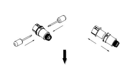 disassembling guide. Figure 12 Disassembling AC Connector from Inverter Figure 13 Disassembling AC Connector 21