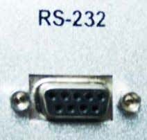 Figure 22 RS232 Communication Cable and Interface Table 6 RS232 Pin Definition Pin 1 2