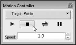 press the Stop button on the Motion Controller. 14. You can also choose Display  Stop