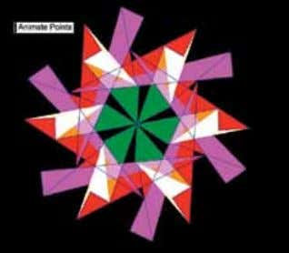 "Sketchpad in the classroom. My students had gained more Student remarks while animating the kaleidoscope: ""This"