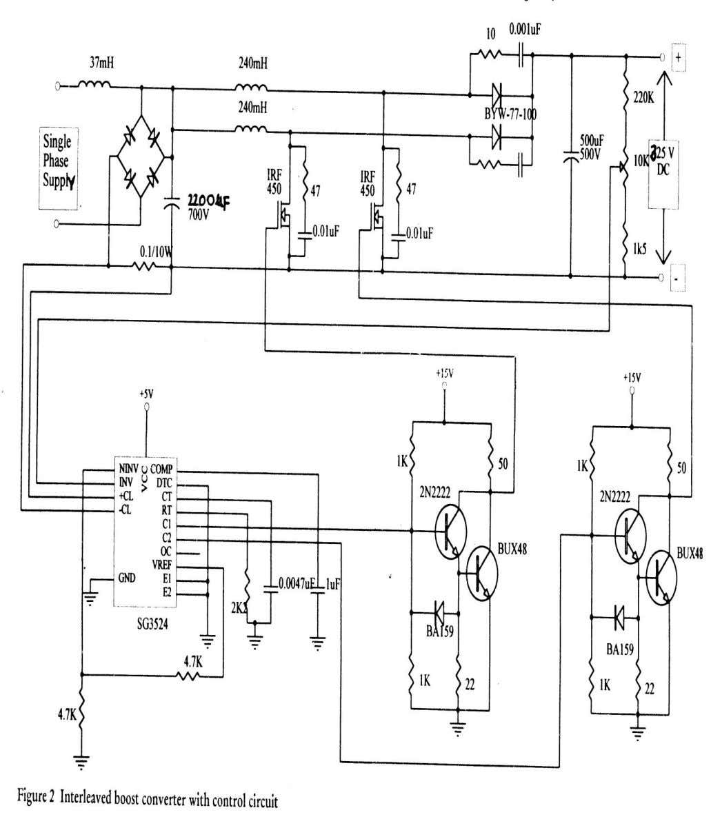 THREE PHASE PWM INVERTER WITH CONTROL CIRCUIT 2