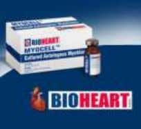 − Isolated skeletal muscle myoblasts − Regeneration of heart muscle − Treatment for myocardium infraction 9