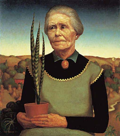 • Grant Wood Artwork