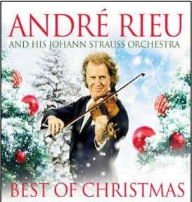 "include ""The Seasons"" and ""In Praise of Christmas."" ANDRE RIEU Best Of Christmas CD In Stores"