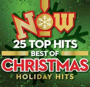 UNIVERSAL MUSIC CANADA NEW CHRSITMAS RELEASES VARIOUS ARTISTS Now! 25 Top Hits Best of Christmas CD