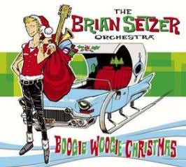 22685 10421 3 THE BRIAN SETZER ORCHESTRA Boogie Woogie Christmas (LP) In Stores October 30 th